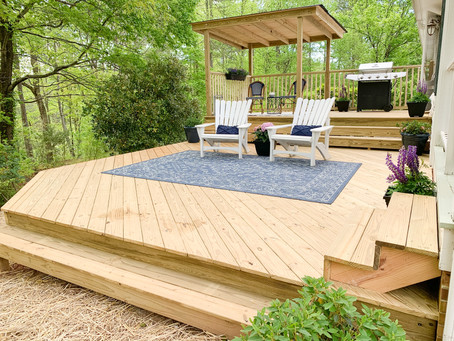 Hickory Nut Project- Back Deck