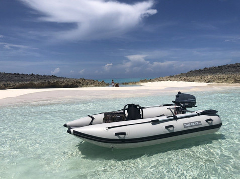 shallow water raft