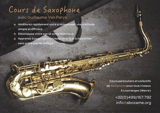 AboCours de Saxophone Wavreamé