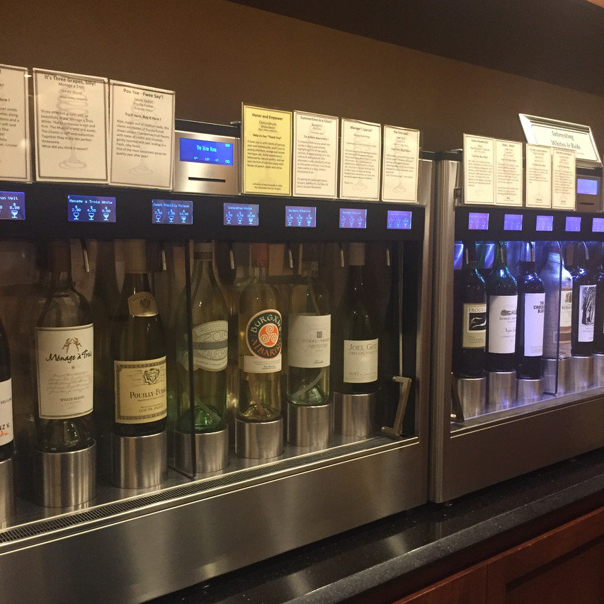 Wine selection at The Wine Room (Winter Park, FL)