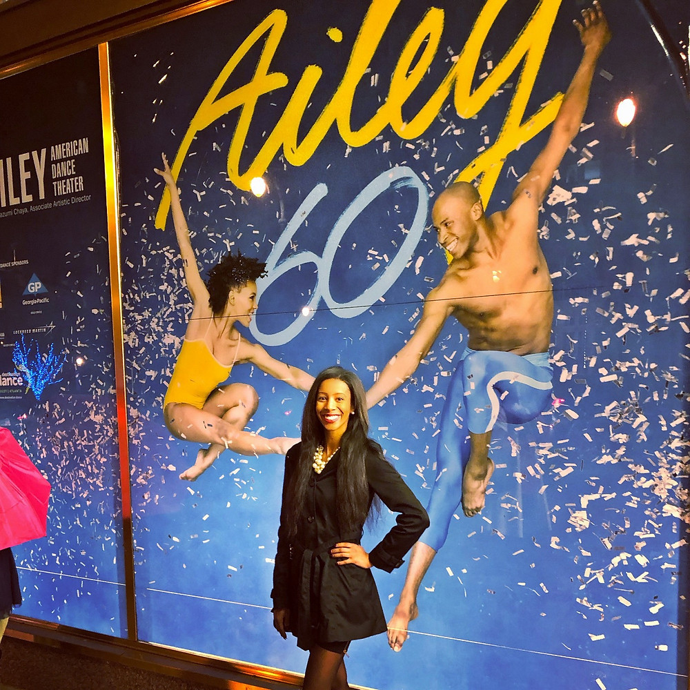 ShanMichele at the Alvin Ailey American Dance Theater's performance at the Fox Theatre (Atlanta, GA)