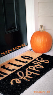 My frontporch decorated for Fall!