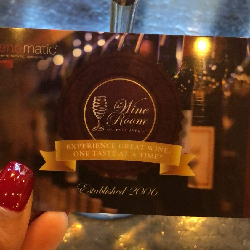 Card at The Wine Room (Winter Park, FL)