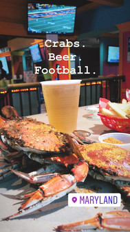 Football, Crabs and Beer (Maryland)