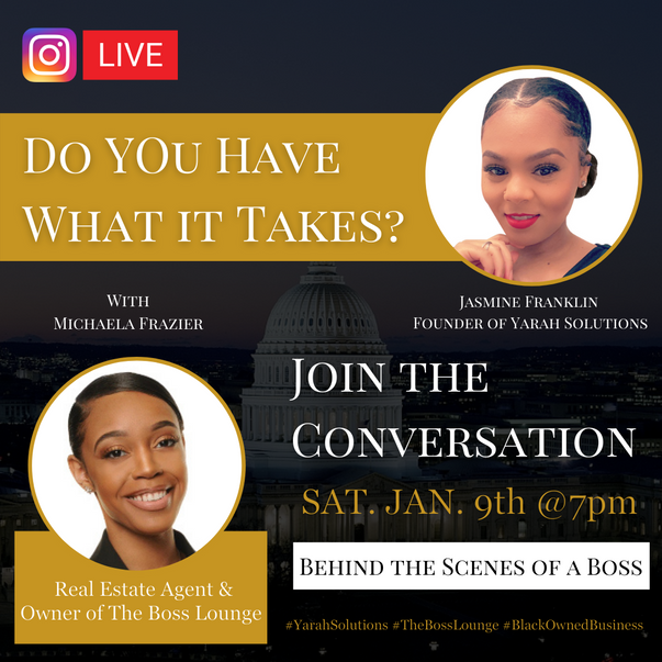 Do You Have What It Takes | Behind the Scenes of a Boss IG Lives Series