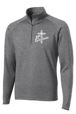 Adult Sport Tek Brush Lined 1/4-Zip Pullover