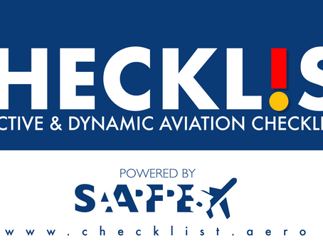 Take flight with CHECKL!ST at your fingertips