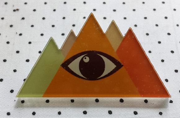 Broche illuminati orange