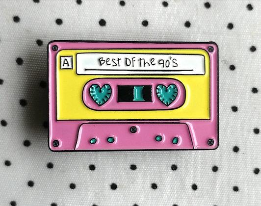 """Pins """"cassette 90'"""""""