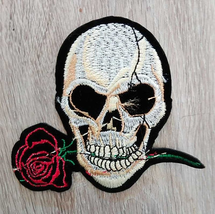 Patch Skull/rose