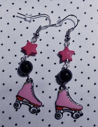 BO Roller Derby red stars