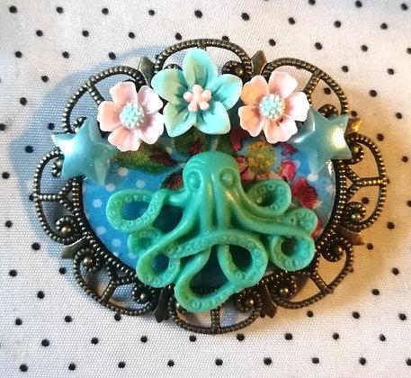 Broche Octopus 7