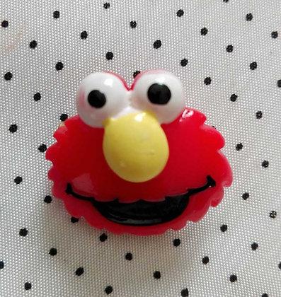 Broche red Monster