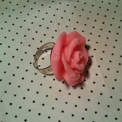 Bague rose