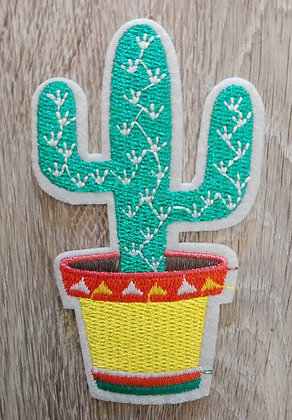 Patch coeur cactus