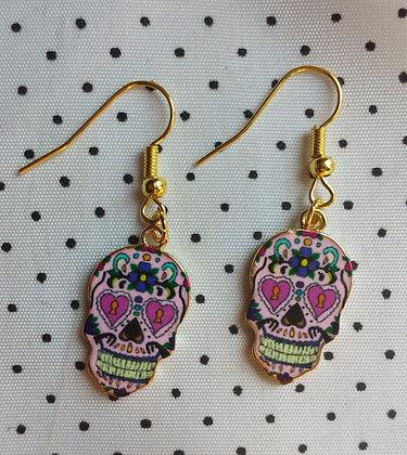BO mexican skull pink