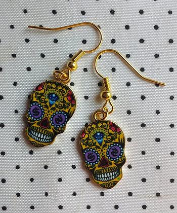 BO mexican skull yellow