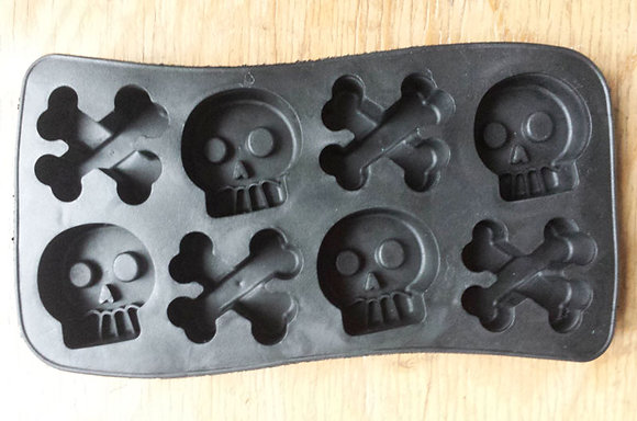 Bac à glaçons Skull