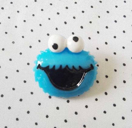 Broche blue Monster