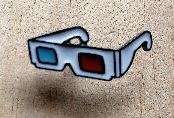 "Pins ""3D glasses"""