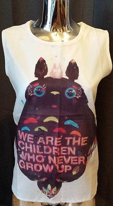 "T-shirt fluide ""we are children.."""