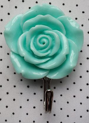 Crochet de salle de Bain rose bleue pâle