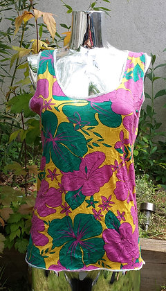 T-shirt Femme fleurs exotiques