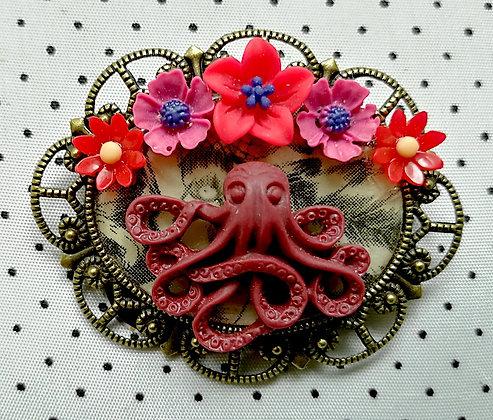 Broche Octopus 6