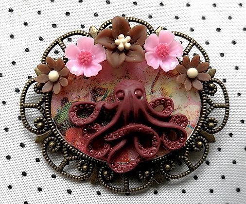 Broche Octopus 22