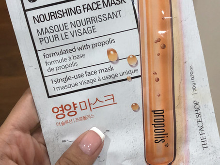 Review – The Face Shop Nourishing Face Mask