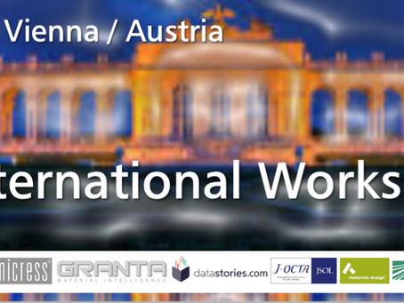 European Materials Modelling Council (EMMC) International Workshop February 25-27 2019 in Vienna