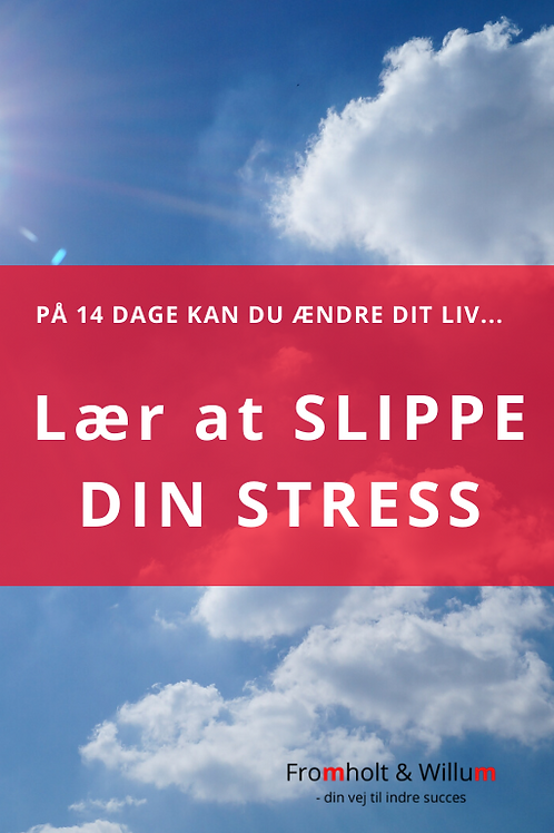 Lær at slippe din stress