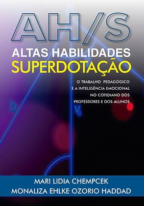 Livro - AH/S Altas Habilidades Superdotação - Mídia Física