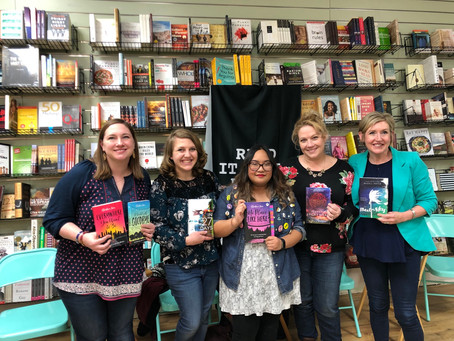 FIRST TIME HOSTING A BOOK PANEL