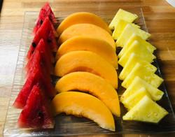 assiette de fruit