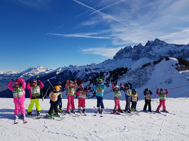 Cours ski pour enfants