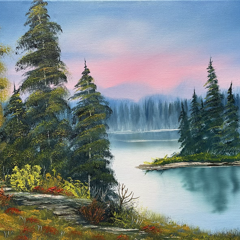 Private event Williamstown, KY- Paint Like Bob Ross class