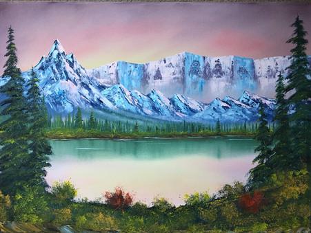 Paint a Steve Ross Painting