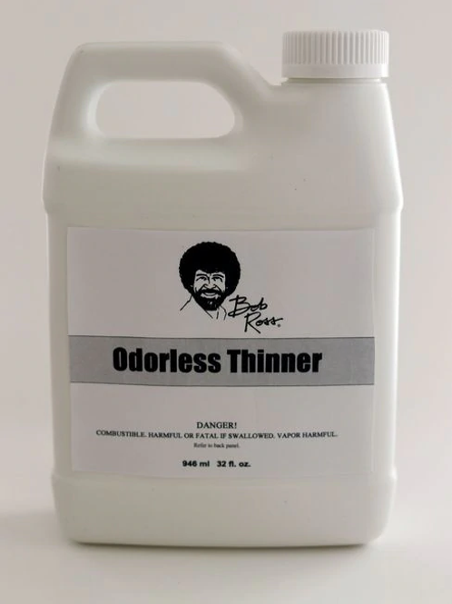 BOB ROSS ODORLESS THINNER 32 OZ