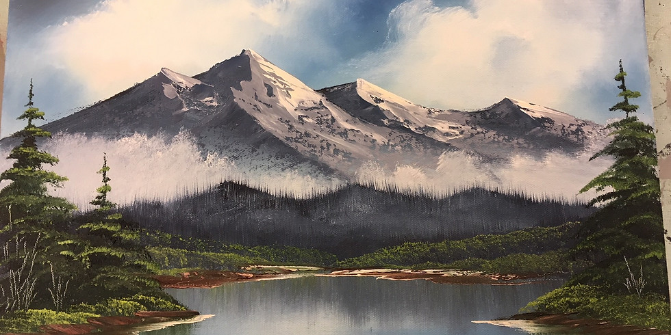 SOLD OUT - Adult 3-hr Paint Like Bob Ross class
