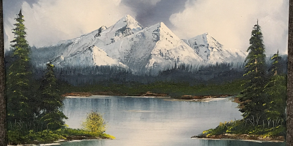 SOLD OUT Adult 3-hr Paint Like Bob Ross class