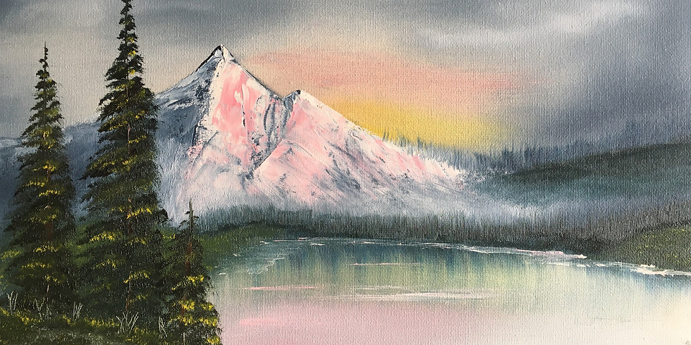 SOLD OUT-Grades 9-12 Paint Like Bob Ross Camp 1:00pm-3:00pm 7/19-7/23