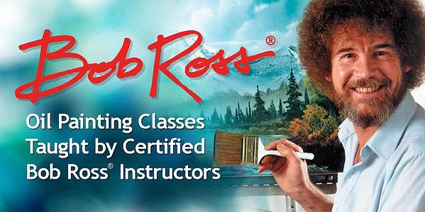 Bob Ross Painting Class