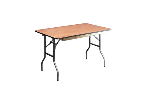 "4' x 30"" Banquet Table"