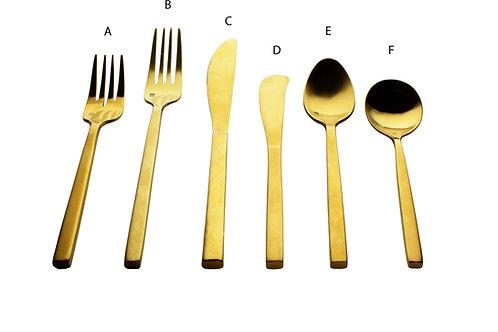 Arezzo Brushed Gold