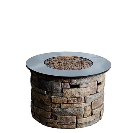 Canyon Ridge Stone Fire Pit Propane