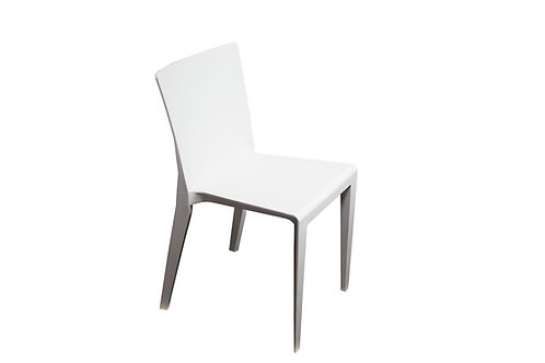 Neo White Resin Chair