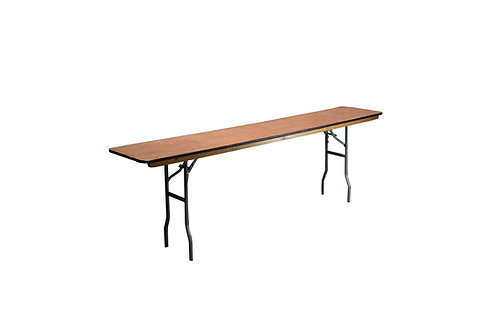 "6' x 18"" Conference Table"