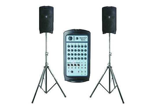 PA System Fender Passport 300 PRO Microphone Included