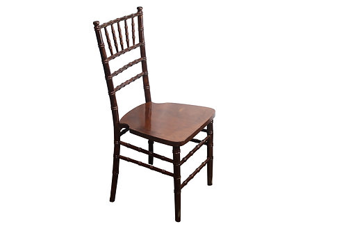 Fruitwood/Walnut Chiavari Chair